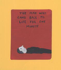 O homem que voltou a vida por um minuto