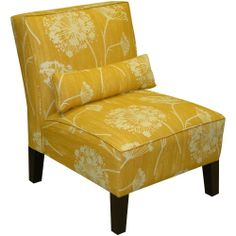 Lace Butterscotch Armless Chair - Accent Chairs at Hayneedle