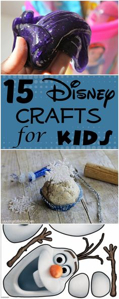 15 Disney Crafts for Kids - House of Faucis Disney Crafts for Kids That are Perfect for All Ages Disney Diy, Disney Crafts For Kids, Crafts For Kids To Make, Crafts For Teens, Crafts To Sell, Easy Crafts, Kids Crafts, Disney Theme, Daycare Crafts