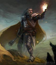 Dwarf Cleric by TentaclesandTeeth o deviantart