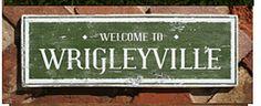 Wrigley sign on etsy