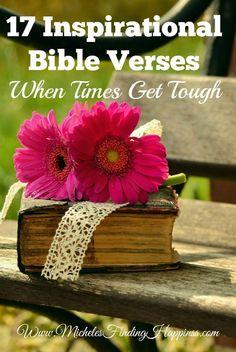 17 inspirational Bible Verses
