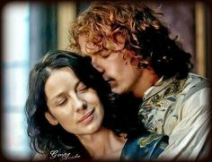 Absolutely gorgeous Outlander art!