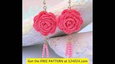 Αποτέλεσμα εικόνας για crochet earrings pattern