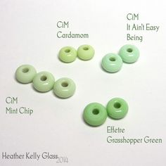 CiM: Messy Color™ It Ain't Easy Being Ltd Run, An opaque pale green. - Creation Is Messy