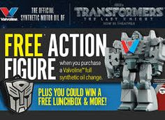 "Tara Bixler,  We're happy to let you know that you're a winner in Valvoline™ ""Transformers: The Last Knight"" Instant Win! You've won a Valvoline™ Autobot lunchbox, which has an approximate retail value of $14.99. Congratulations!"