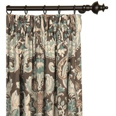 You'll love the Kira Damask Semi-Sheer Pinch Pleat Single Curtain Panel at Perigold. Enjoy white-glove delivery on large items.