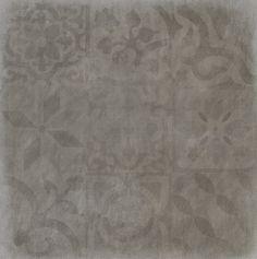 Fliesen: Kemmler. - Bodenfliese Grosotto mix in der Farbe grau und im Format 60 x 60 cm