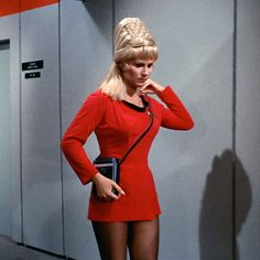 For anyone with more time than funds, here is a pattern TOS Starfleet Officer Duty Uniform Female Skant