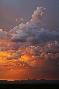 Cascade Sunset ♥ ♥ www.paintingyouwithwords.com