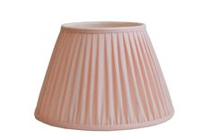Pale pink linen gathered pleat on a Straight empire lampshade Natural Linen, Lampshades, Pale Pink, Empire, English, Country, Bedroom, Inspiration, Home Decor