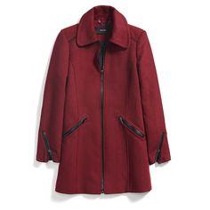 Stitch Fix Fall Stylist Picks: Red Wool Coat