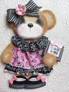 ELITE4U-Laura-LOVED-GIRL-BOUTIQUE-Tear-BEAR-Premade-Scrapbook-3paperwishes