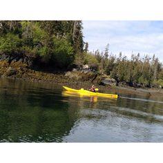 Kayaking with beat friend in Alaska