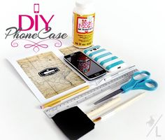 DIY Phone Case. Perfect for my new T-Mobile phone! #ChangingPrepaid #ad #cbias