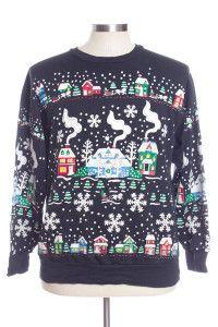 Black Ugly Christmas Sweatshirts 31219
