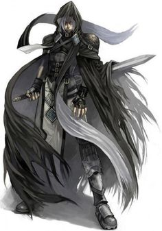 Kira Assassino Meio Elemental das Trevas
