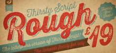 Thirsty Rough by Yellow Design Studio