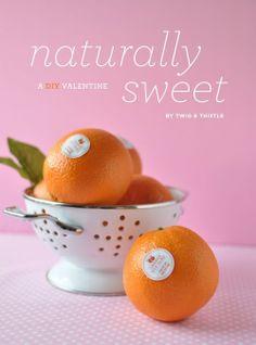 Orange valentine