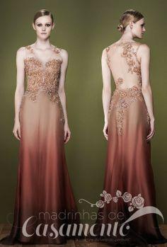 Madrinhas de casamento: Vestidos em frente e verso: M.Rodarte