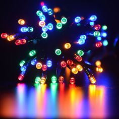 Efrank 100-led Watrproof Battery Operated Fairy String Lights with 8 Modes