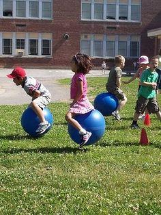 """Bouncing """"balloon"""" relay?"""