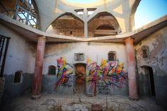 150 artistes investissent un village tunisien pour le transformer en véritable musée du street art à ciel ouvert   Daily Geek Show