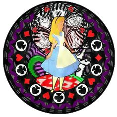 Alice Kh Stained Glass by ~bummi1 on deviantART
