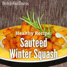 Enjoy this meatless meal, and reap good nutrition: Butternut and hubbard have the greatest amount of beta carotene of the commonly available varieties of winter squash. Get the healthy recipe. Healthy Side Dishes, Healthy Eating Recipes, Yummy Recipes, Whole Food Recipes, Yummy Food, Hubbard Squash Recipes, Blue Hubbard Squash, Squash Eggplant Recipe, Beta Carotene
