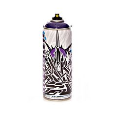 Image of MTN x SABER Limited Edition Can (Cosmos Violet Spray Paint)
