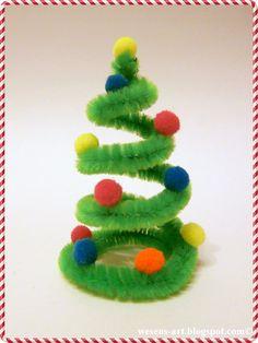 CUTEST little mini Christmas tree gift Christmas Tree Design, Christmas Tree Canvas, Driftwood Christmas Tree, Christmas Tree With Gifts, Cool Christmas Trees, Christmas Crafts For Kids, Xmas Crafts, Kids Christmas, Handmade Christmas
