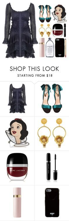 """5.608"" by katrinattack ❤ liked on Polyvore featuring Zimmermann, Christian Louboutin, Danielle Nicole, Dolce&Gabbana, Marc Jacobs, Valentino and Givenchy"