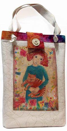 Handmade purses and bags by DJ Pettitt Handmade Handbags & Accessories - amzn.to/2ij5DXx Clothing, Shoes & Jewelry - Women - handmade handbags & accessories - http://amzn.to/2kdX3h7
