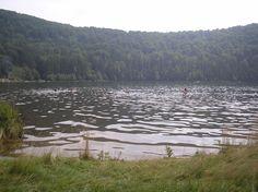 Hot spring in Romania