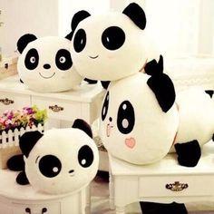 >> Click to Buy << 20cm Giant Panda Pillow Mini Plush Toys Stuffed Animal Toy Doll Pillow Plush Bolster Doll Valentine's Day Gift #Affiliate