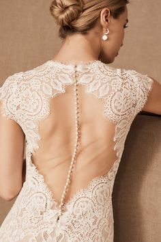 View larger image of Wtoo by Watters Philomene Gown Wedding Dress Backs, How To Dress For A Wedding, Wedding Dress Sleeves, Bridal Wedding Dresses, Bridal Outfits, Bridal Style, Lace Weddings, Wedding Bells, Wedding Bouquets