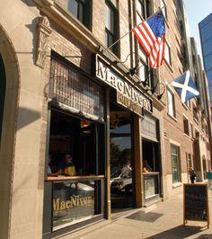MacNiven's Indianapolis, Indiana. LOVE the Scottish eggs. YUMMY!