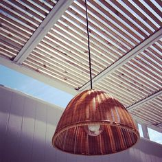 #wicker #light by @alisonhoneywoods was liked by the outdoor wicker furniture experts!