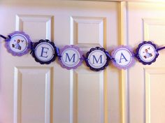 Sofia the First Name Banner by BerrySweetParties on Etsy, $14.00