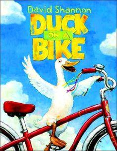 Duck on a bike SHANNON, David