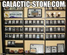 WWW.GALACTIC-STONE.COM - Specimens for Collectors and Science - #meteorites #science