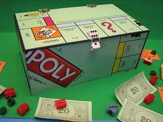 Monopoly Game Board Keepsake Box by LovinTheWhimsy on Etsy