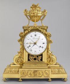 French Louis XVI Mantel Clock, for sale at VanGoghle, Kollenburg Antiquairs Wall Clock Brands, Wall Clock Online, Louis Xvi, Wall Clock Luxury, Antique Wall Clocks, Classic Clocks, Mantel Clocks, Wall Clock Design, Desk Clock