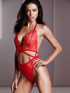 Adriana Lima for Victoria's Secret lookbook (Fall 2014) photo shoot