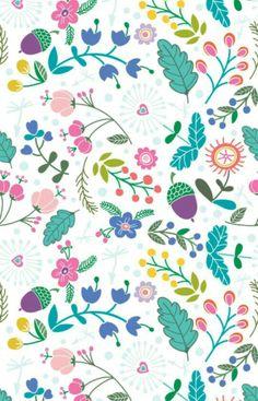 / floral pattern /