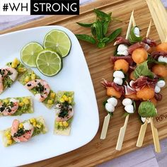 Can we come to this BBQ?! @tonyamichelle26 made the Shrimp and Corn Tostadas and Melon Caprese Skewers from page 94 of our June issue and they look amazing  If you try anything from our mag show us using the hashtag #WHStrongwe'd love to see! #Repost  via WOMEN'S HEALTH MAGAZINE OFFICIAL INSTAGRAM - Celebrity  Fashion  Health  Advertising  Culture  Beauty  Editorial Photography  Magazine Covers  Supermodels  Runway Models