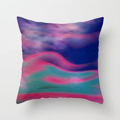 #Society6 Sky Clouds Throw Pillow by Elena Indolfi - $20.00
