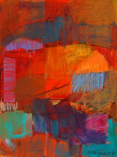 Language of Instincts: Abstract Acrylic with Marsha Staiger