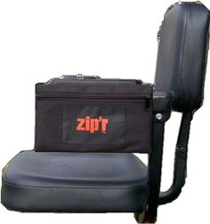 The Side Access Bag attaches using a harness style mount and can be attached to most wheelchairs and scooters.