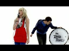 Day 3: a song that your sibling listen to. She was watching a dance video and this song was playing. The ting tings- that's not my name